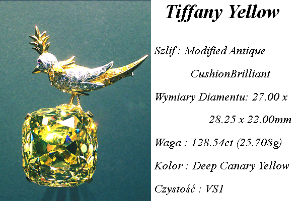 Tiffany zolty diament